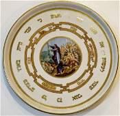 C. 1900 Ceramic Passover Plate