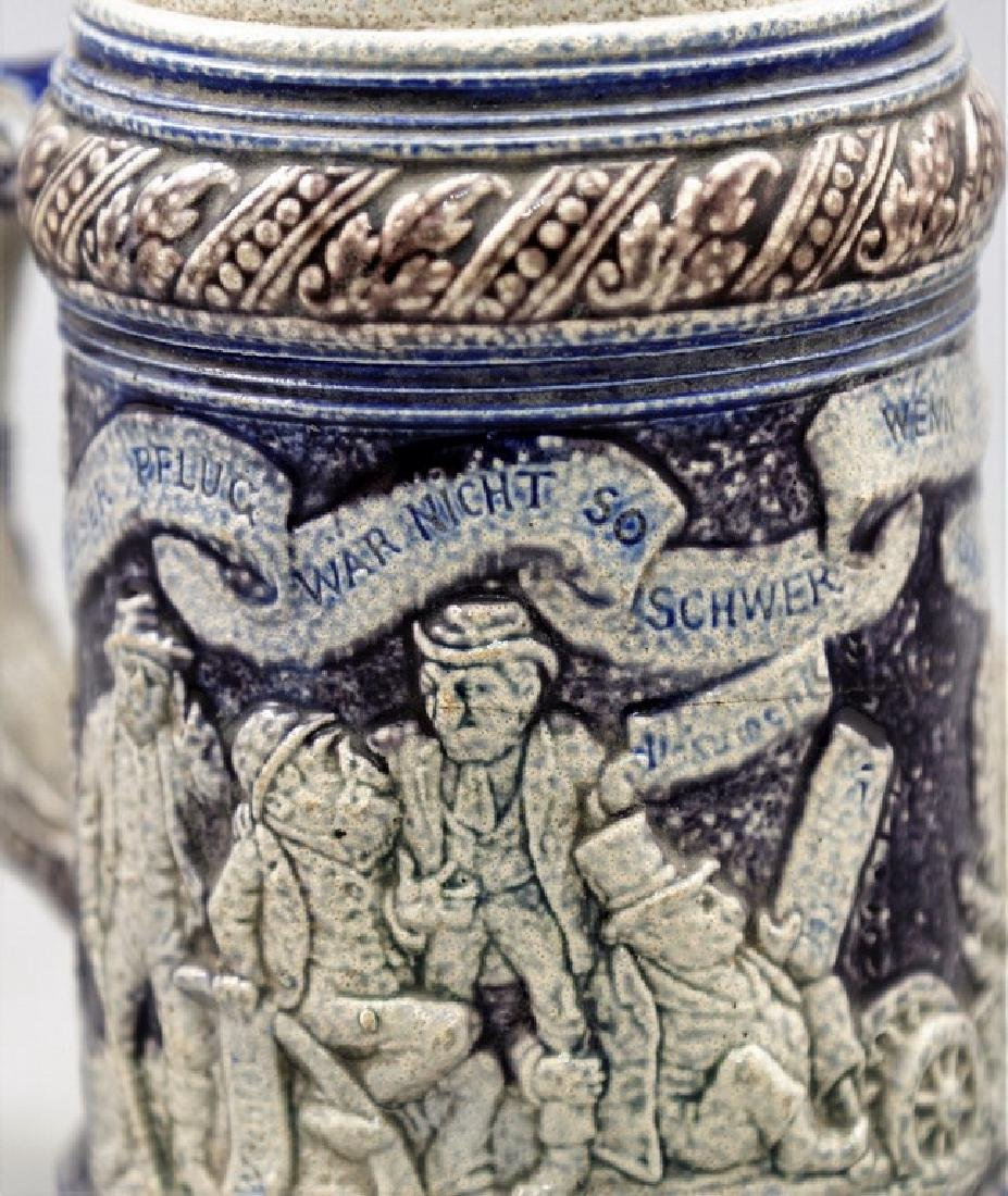 German Anti-Semitic Beer Mug - 3
