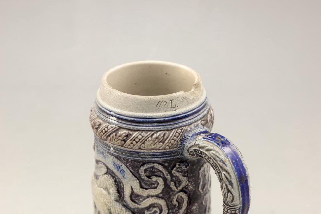 German Anti-Semitic Beer Mug - 4