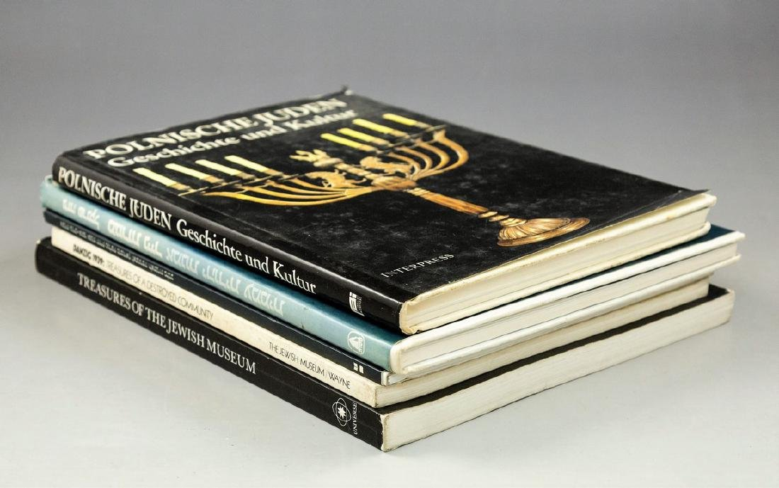Lot of 5 Judaica Catalogs