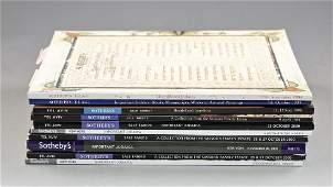 Lot of Judaica Catalogs