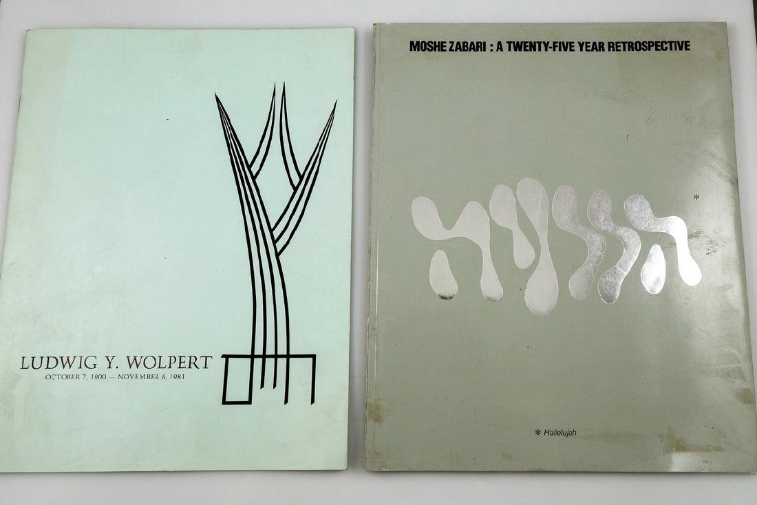 Lot of two Catalogs on Modern Judaica Artists