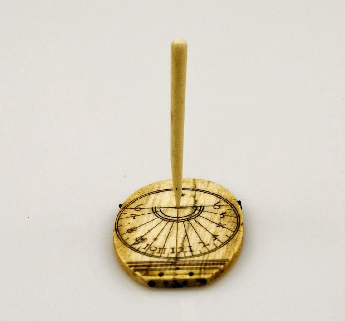 19th Century Bone Sundial