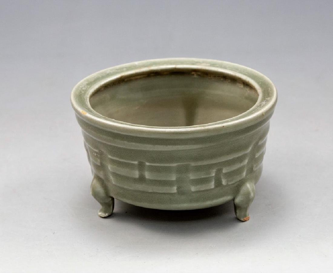 ChineseCeladon Spice Bowl