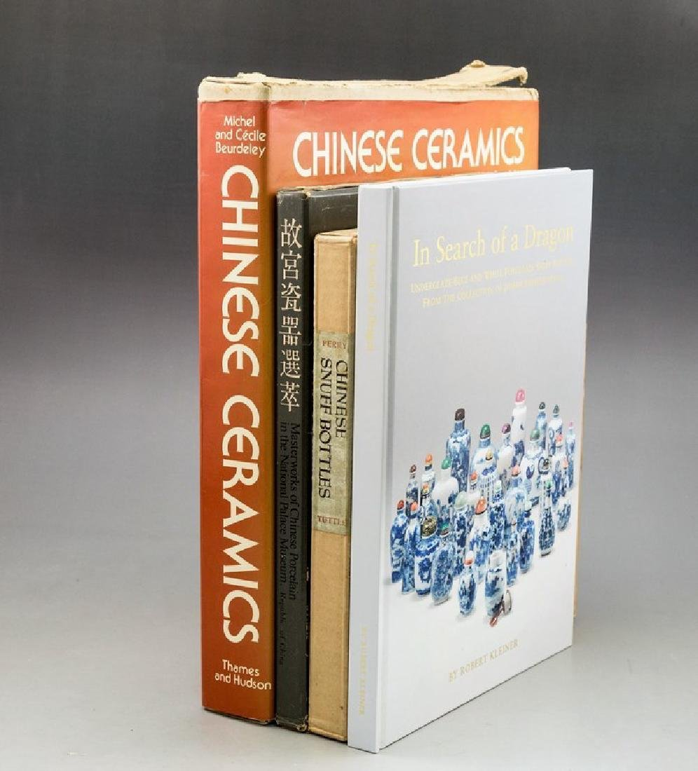 Lot of 4 Books on Chinese Ceramics