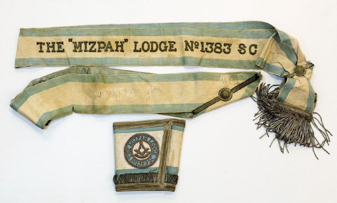 Lot of 3 Items of the Masonic Lodge in Mizpah