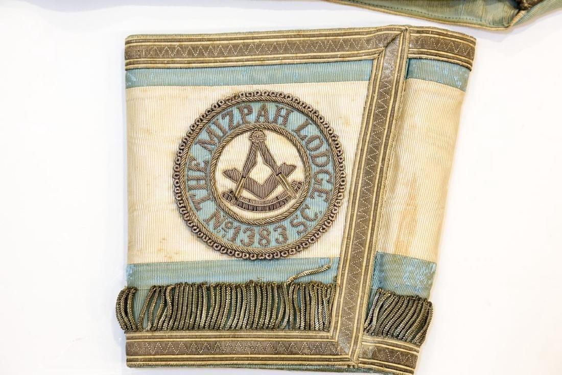 Lot of 3 Items of the Masonic Lodge in Mizpah - 2
