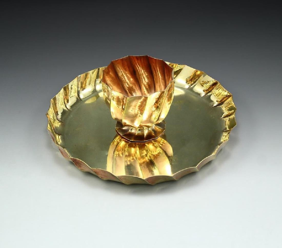 Wiener Werkstätte tray & bowl, Josef Hoffmann - 2