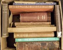 Lot of Books on the Holy Land