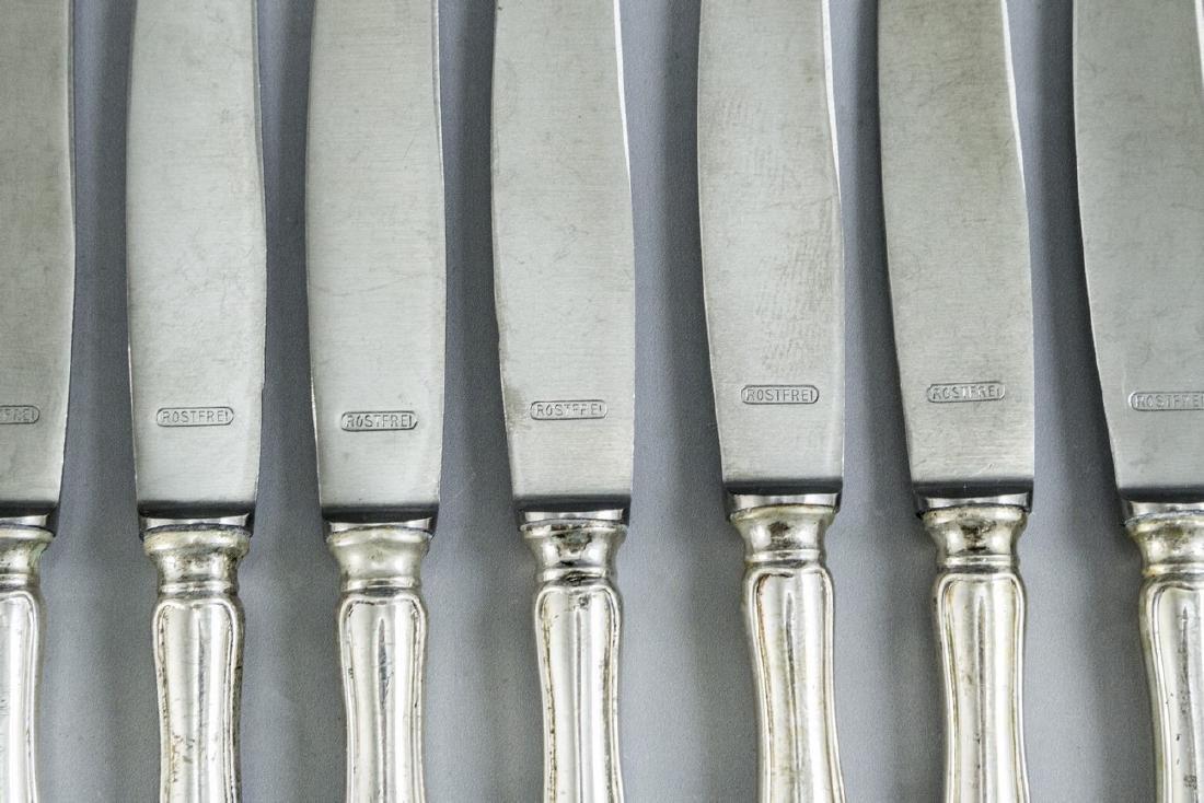 German Silver Cutlery Set - 2