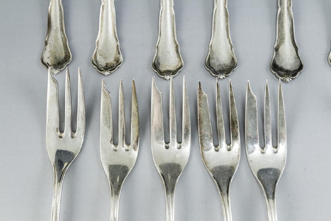 German Silver Cutlery Set - 3