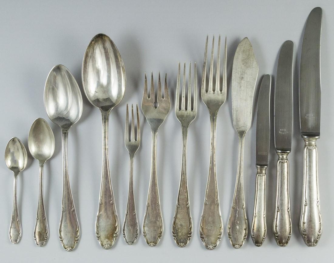 Set of German Silver Cutlery