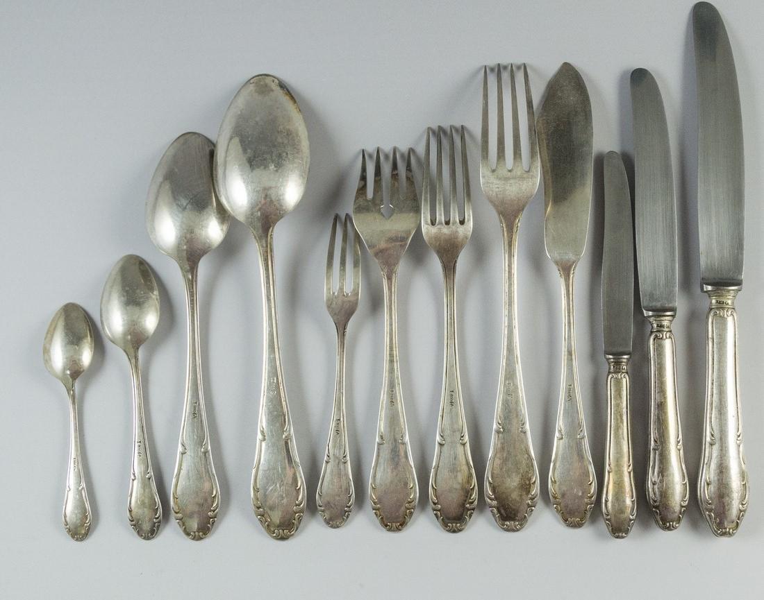 Set of German Silver Cutlery - 2