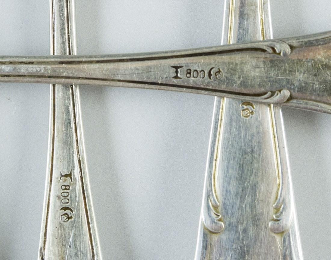 Set of German Silver Cutlery - 4