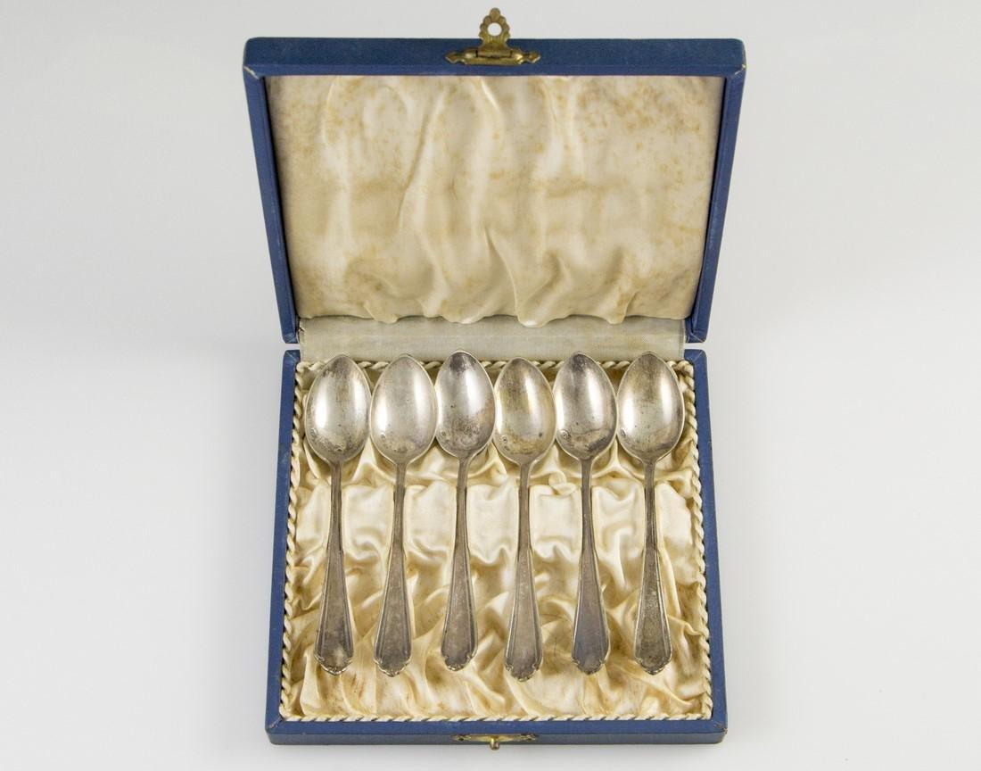 Set of Polish Silver Teaspoons