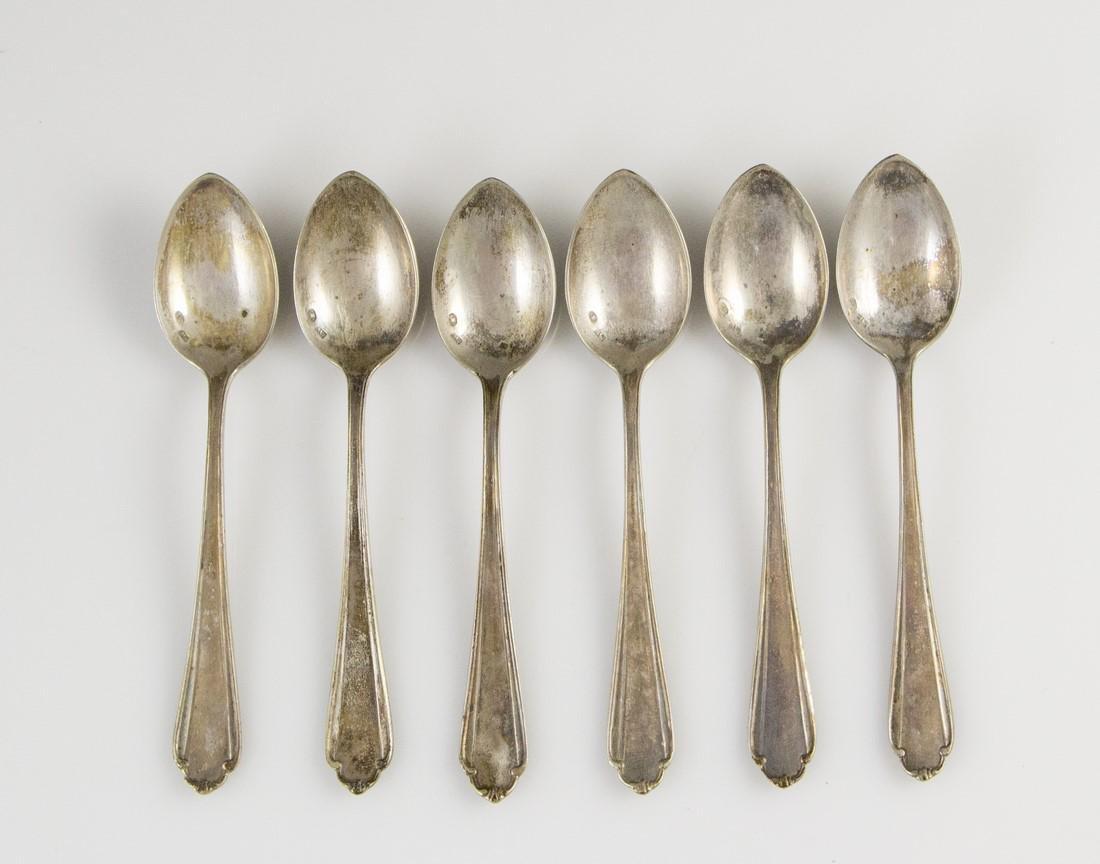 Set of Polish Silver Teaspoons - 2