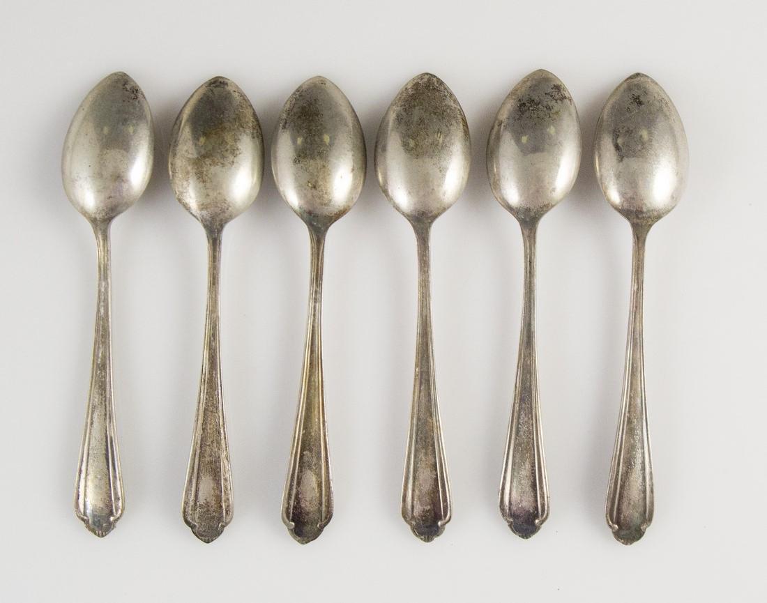 Set of Polish Silver Teaspoons - 3