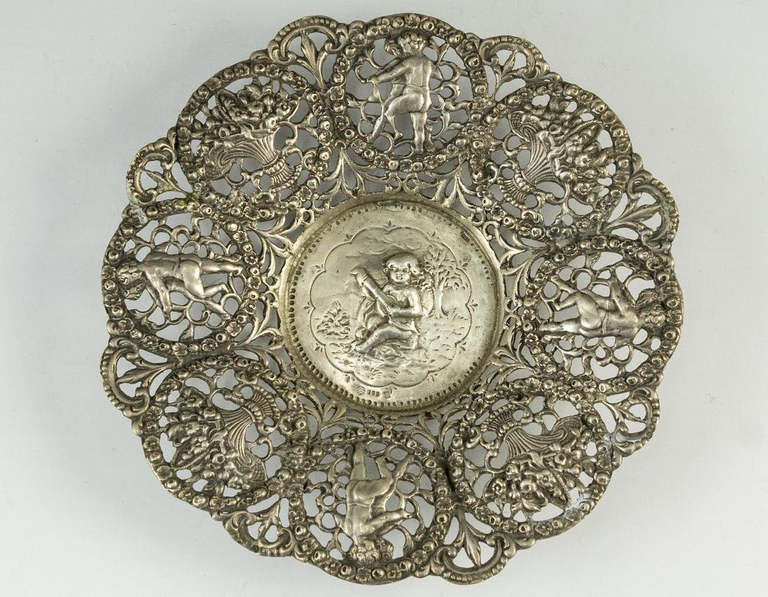 Neoclassical Silver Plate