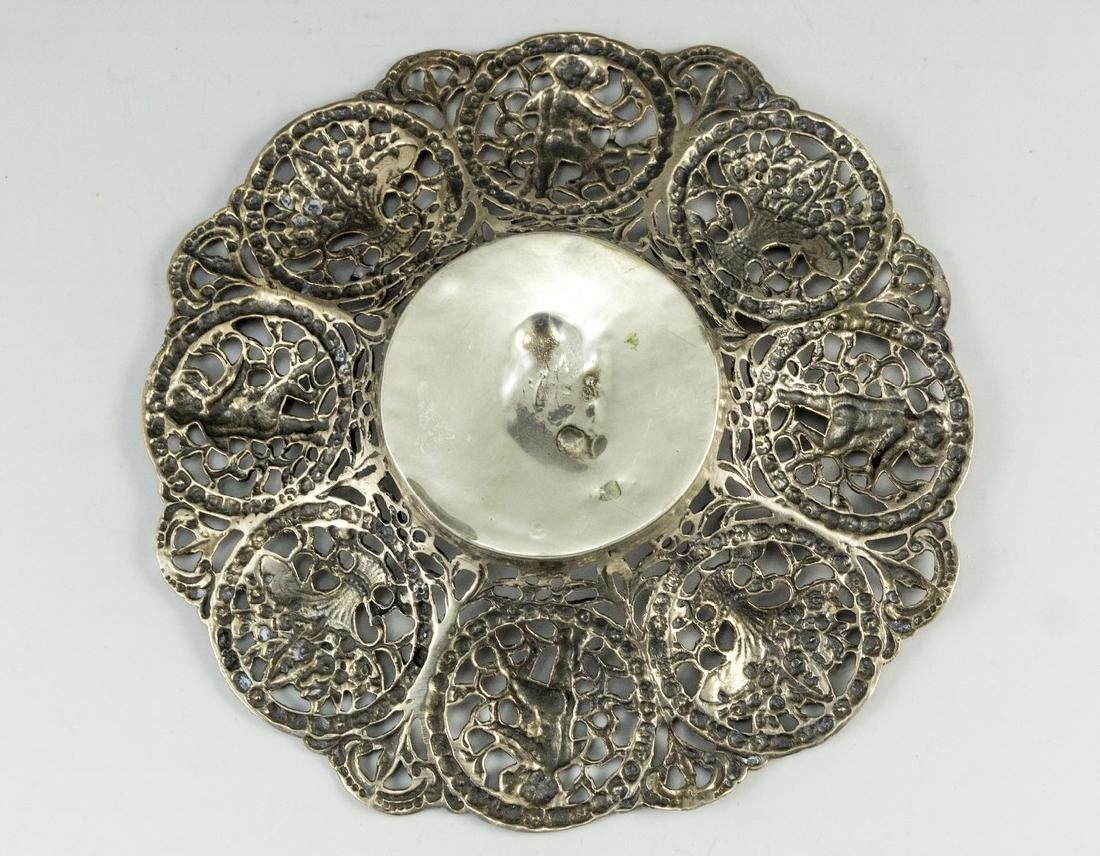Neoclassical Silver Plate - 3