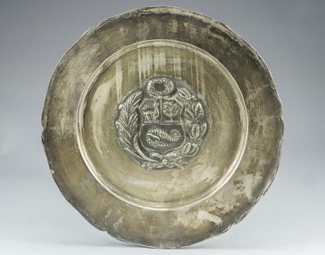 Peruvian Silver Plate