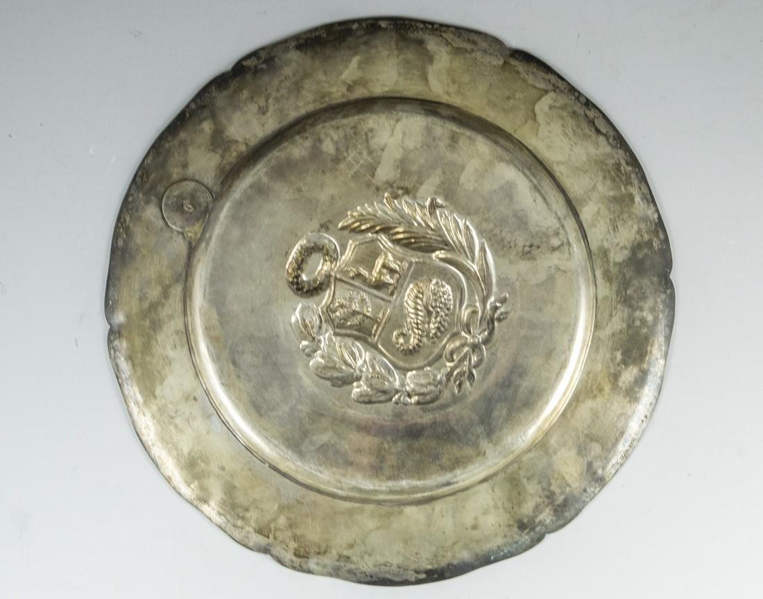 Peruvian Silver Plate - 3