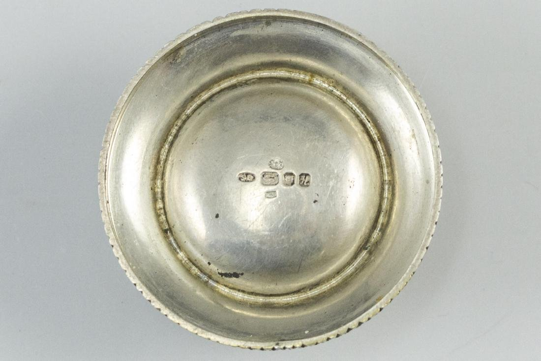 English Silver Pillbox - 2