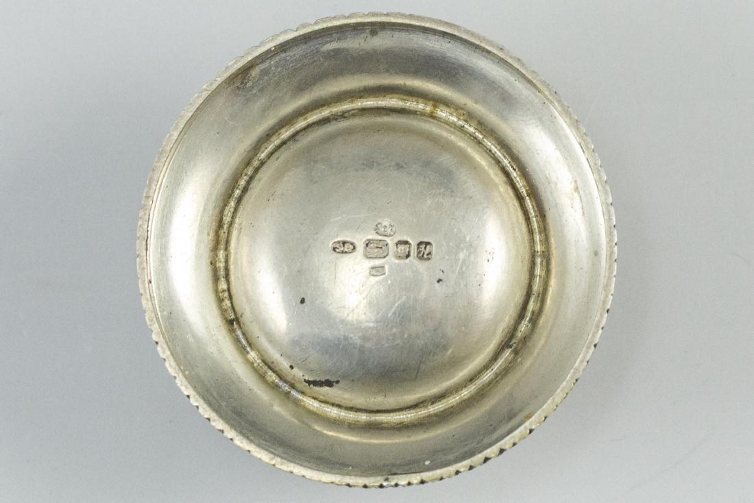 English Silver Pillbox - 2