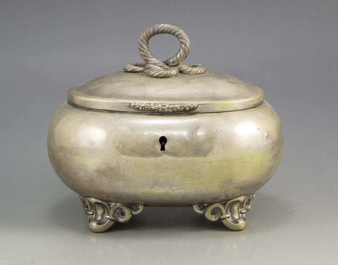 Silver Jewelry/Etrog Box