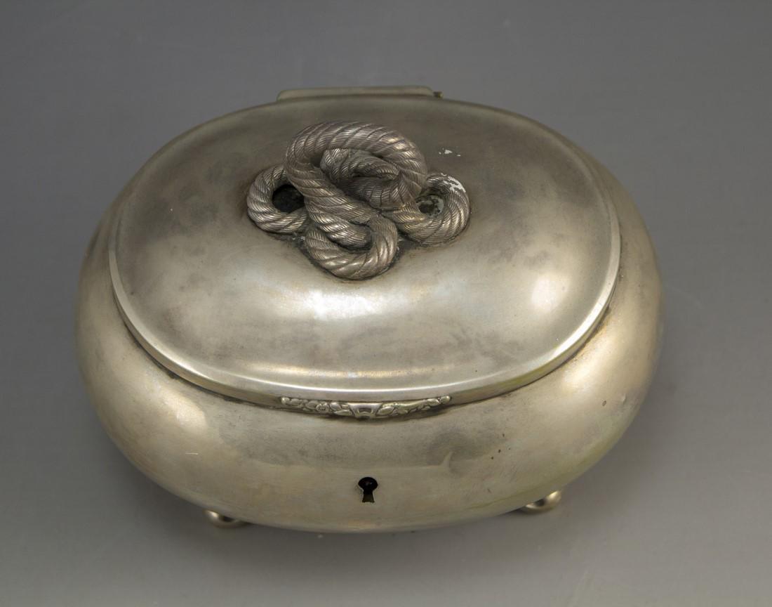 Silver Jewelry/Etrog Box - 2