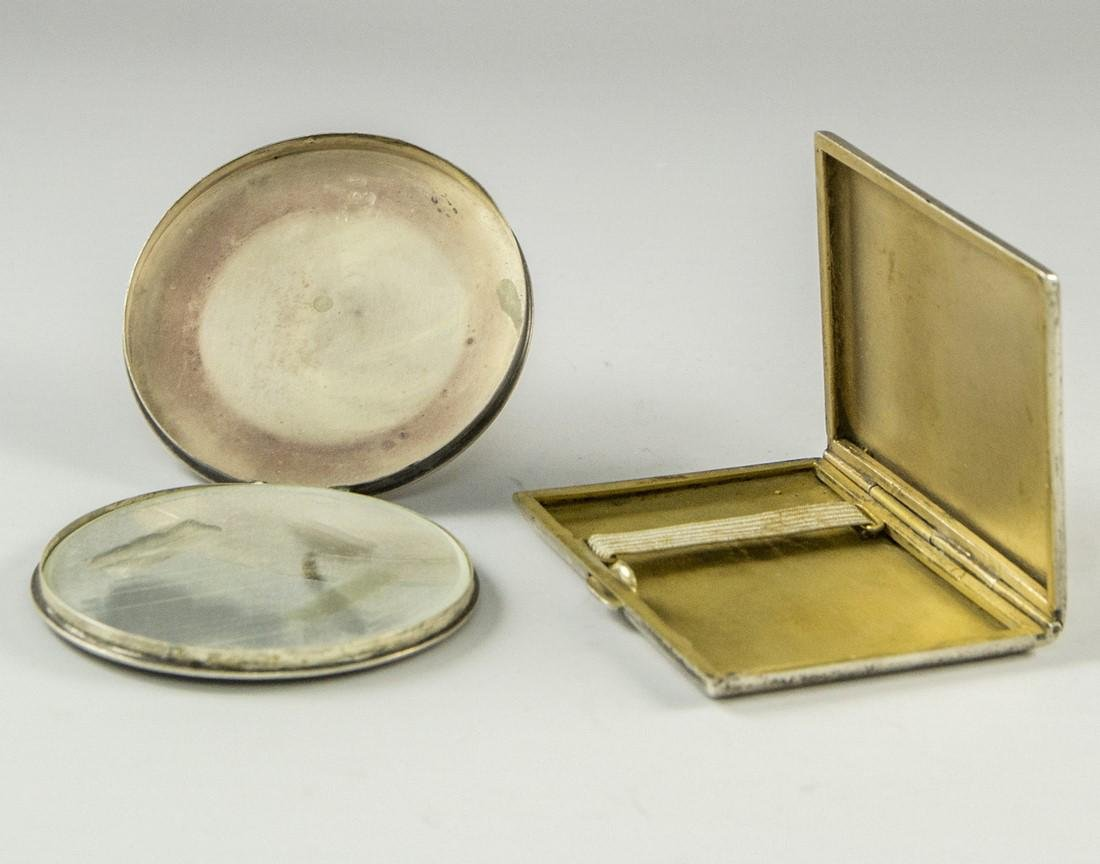 Lot of Israeli Silver Boxes - 4