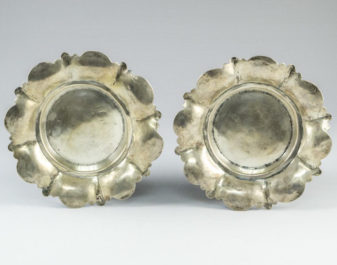 Pair of Iraqi Silver Trays