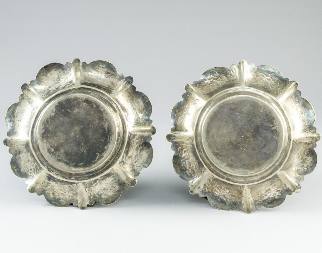 Pair of Iraqi Silver Trays - 3