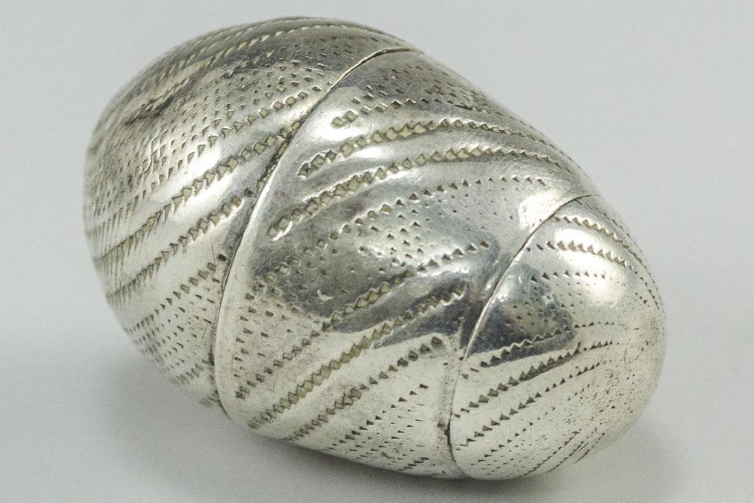 Silver Spice Container - 2