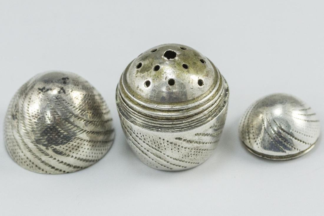 Silver Spice Container - 3