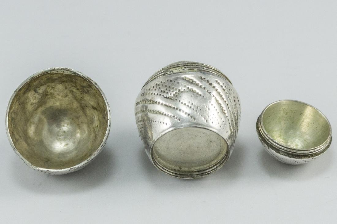 Silver Spice Container - 4