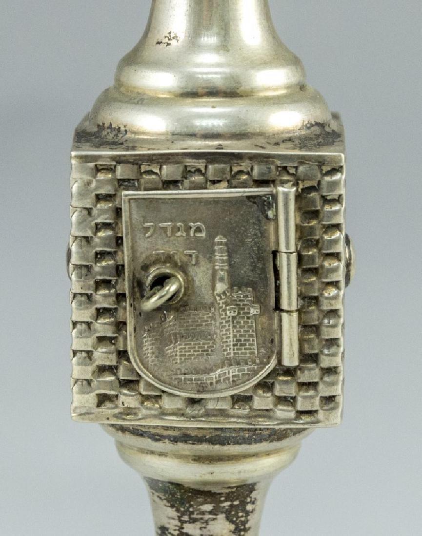 Israeli Silver Spice Container - 5