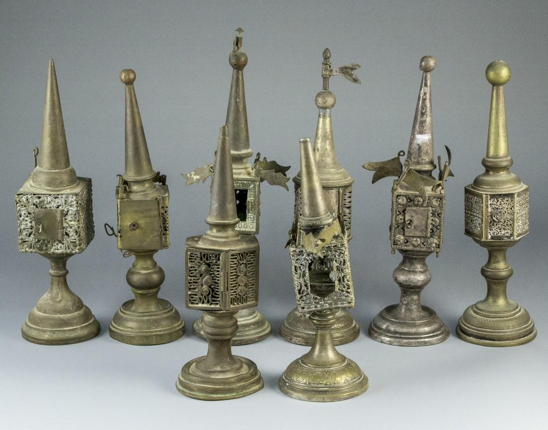Lot of Silver Plated Spice Towers