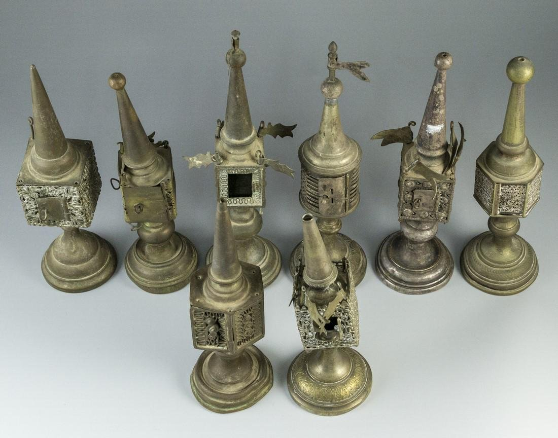 Lot of Silver Plated Spice Towers - 2