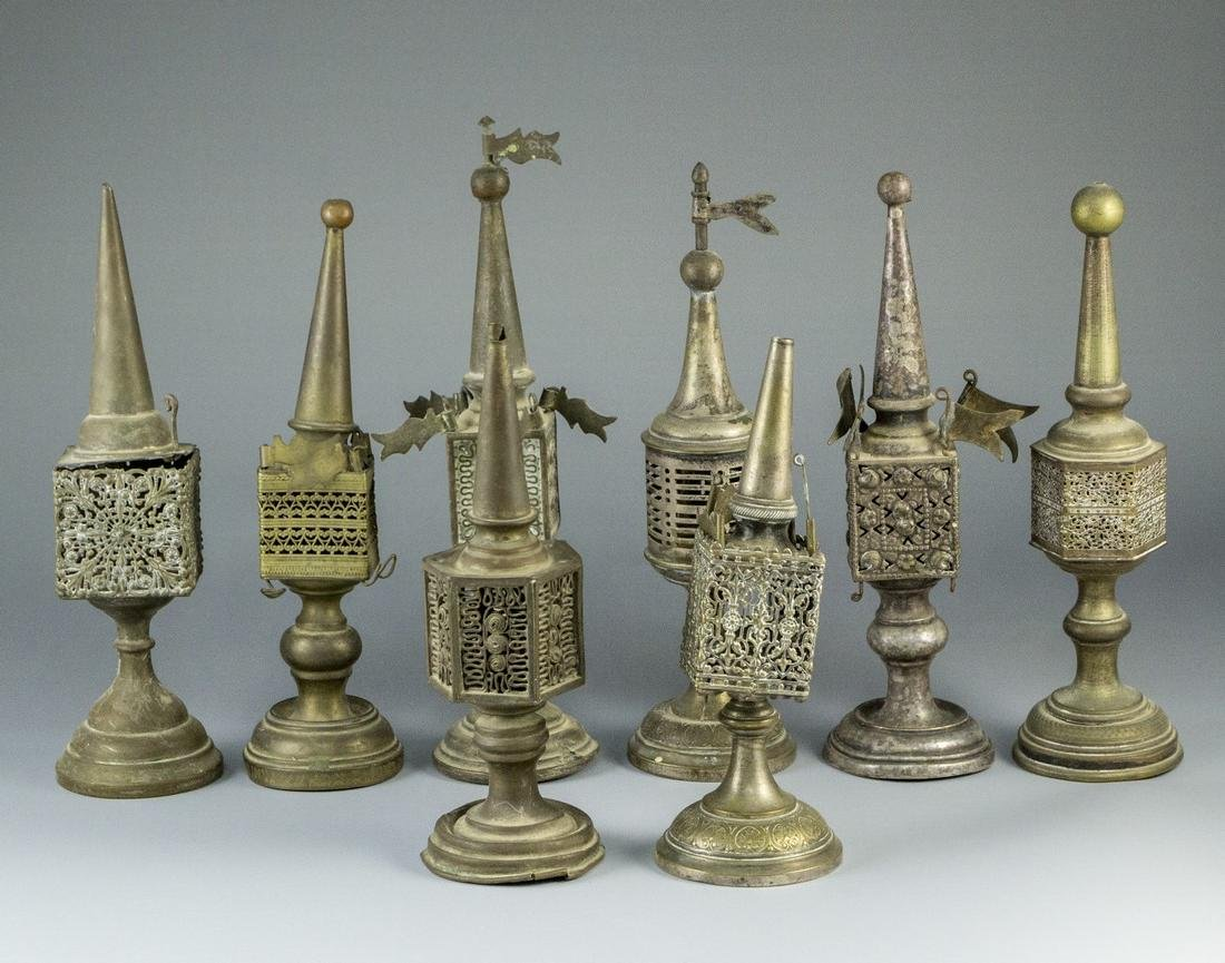 Lot of Silver Plated Spice Towers - 3