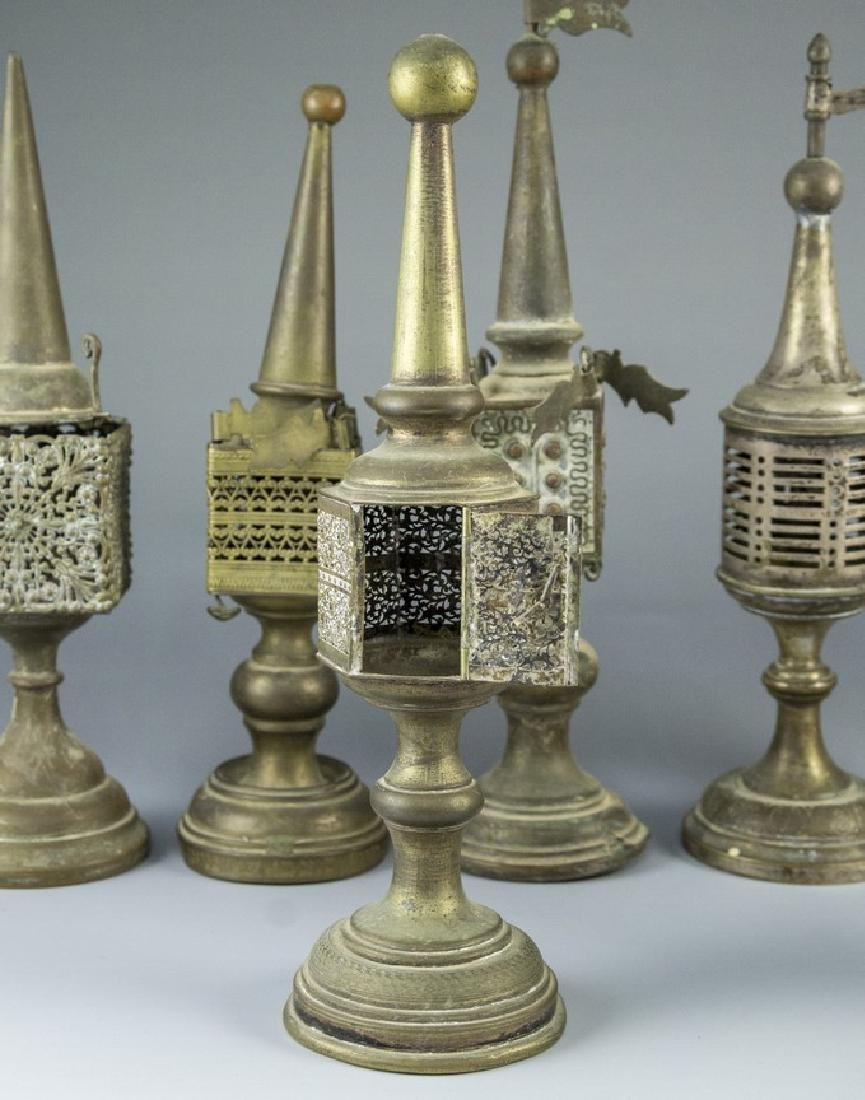 Lot of Silver Plated Spice Towers - 4