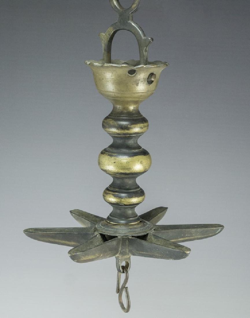 19th Century Jewish  Synagogue Lamp