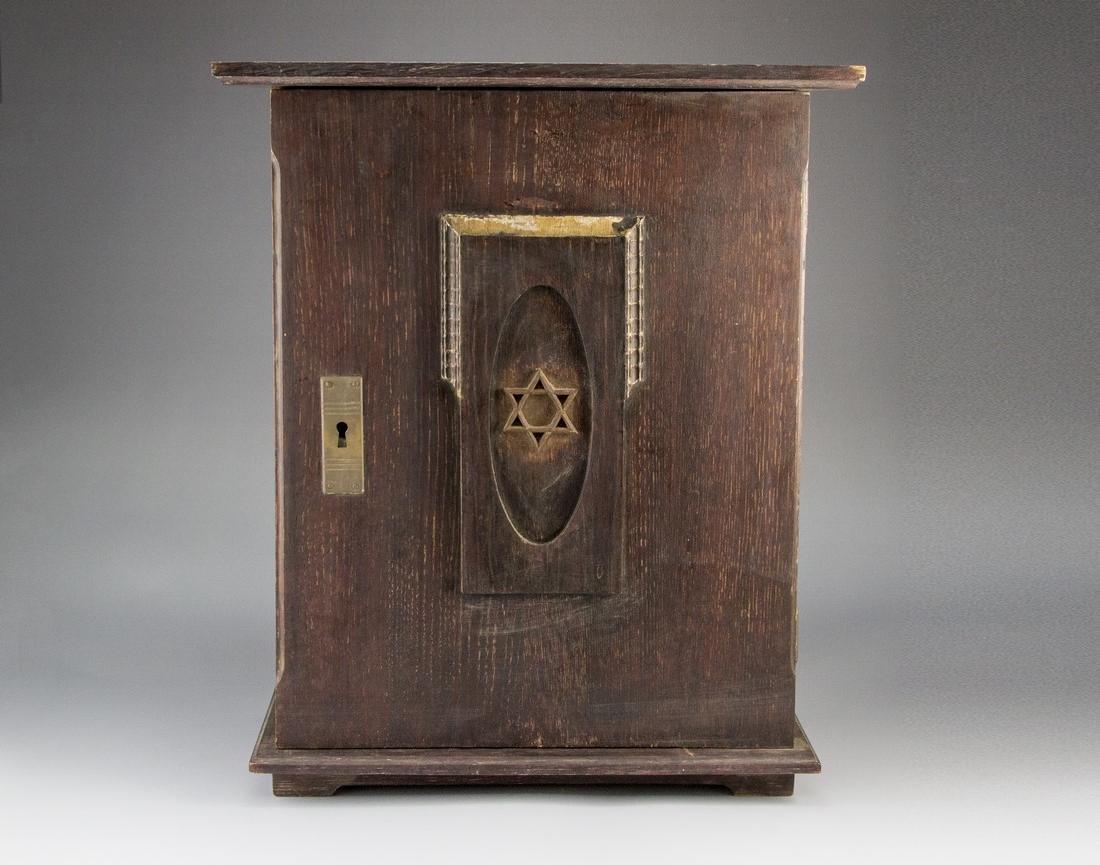 Jewish Wooden Cabinet