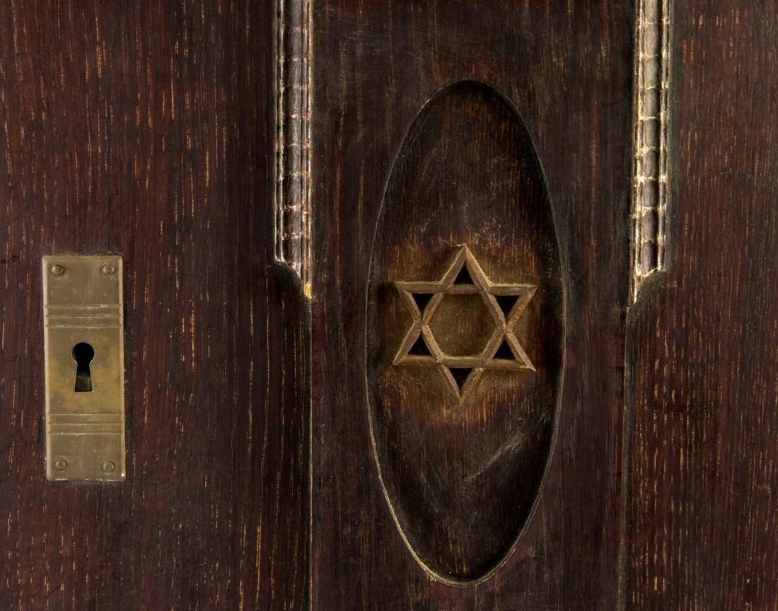 Jewish Wooden Cabinet - 2