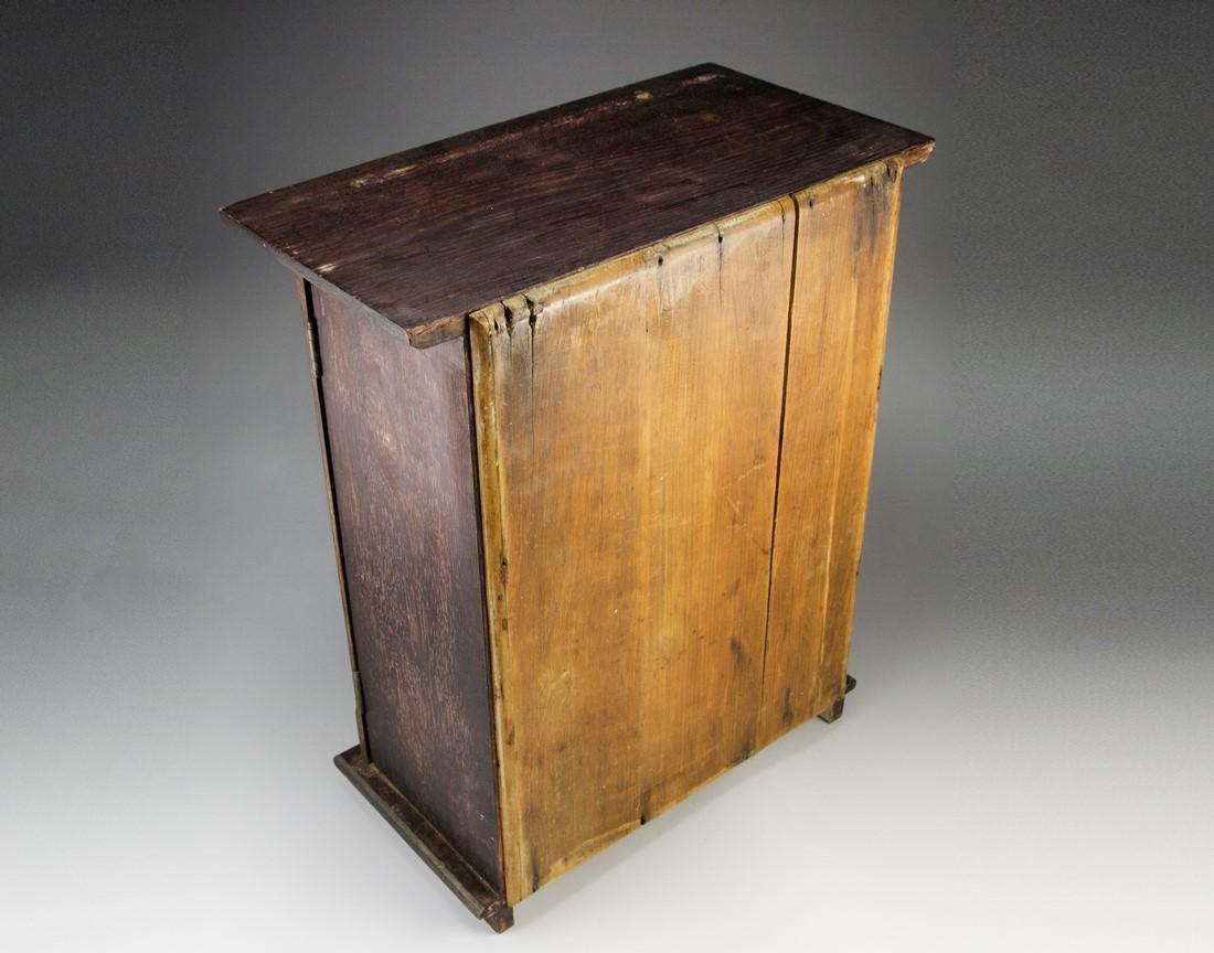 Jewish Wooden Cabinet - 3