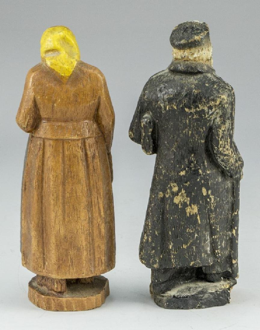 Jewish Bubbe and Zaydi Figures - 2