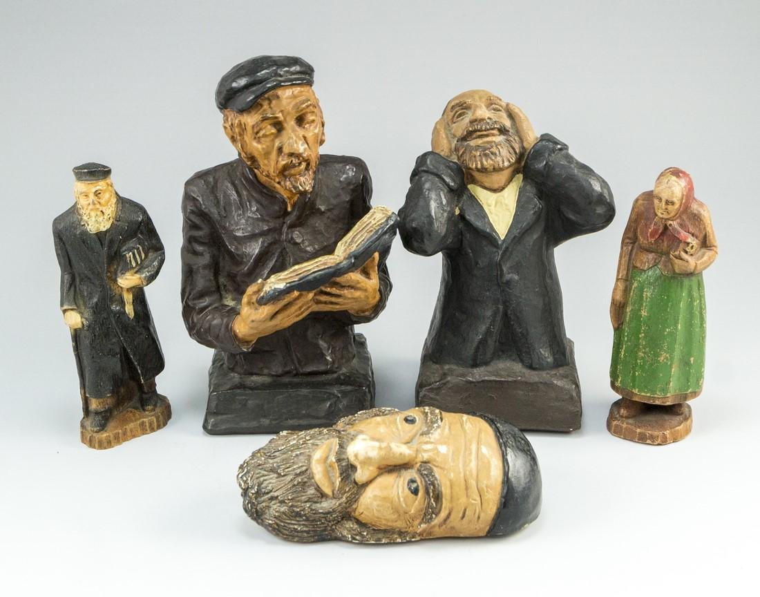 Lot of Jewish Figurines