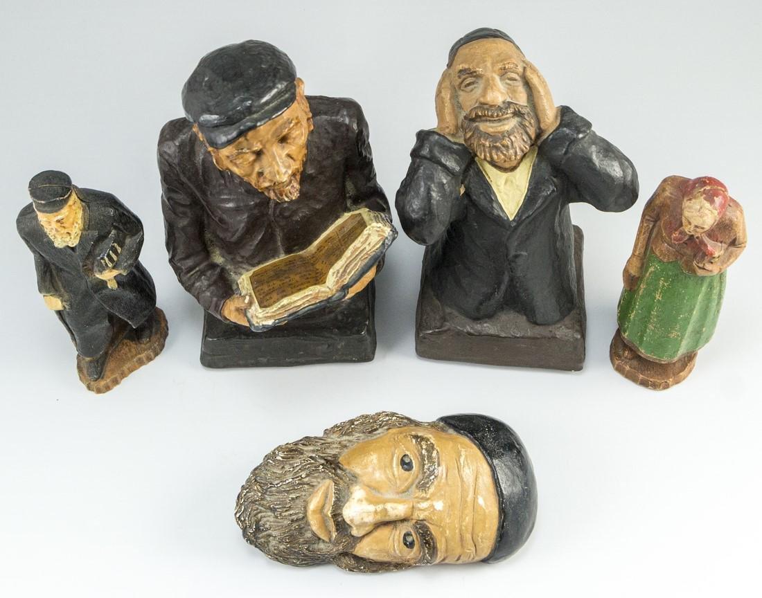 Lot of Jewish Figurines - 2