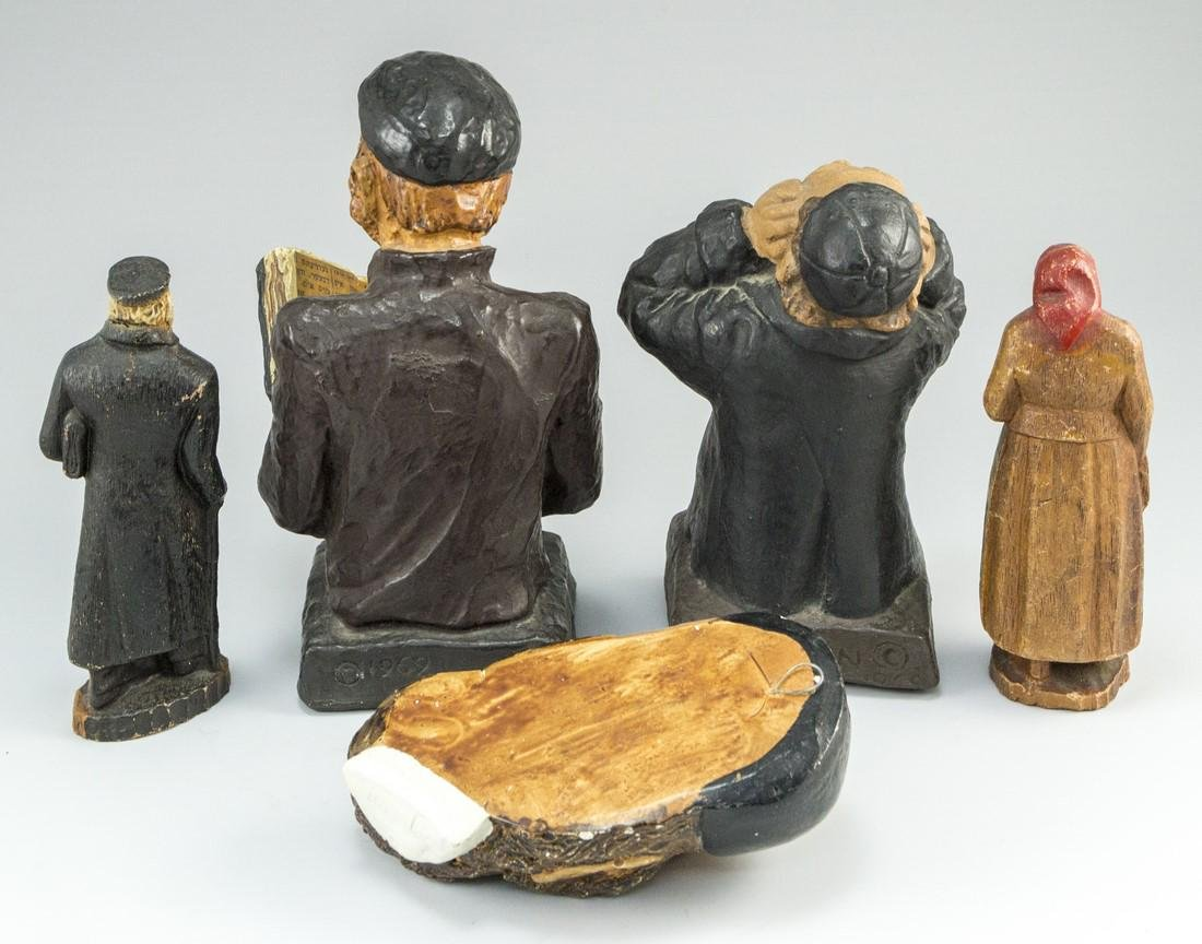 Lot of Jewish Figurines - 3