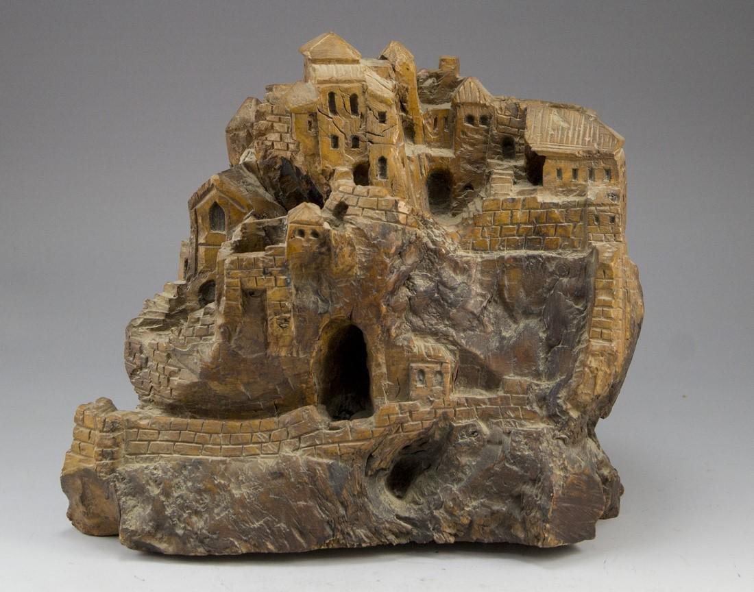 Carved Olivewood Sculpture