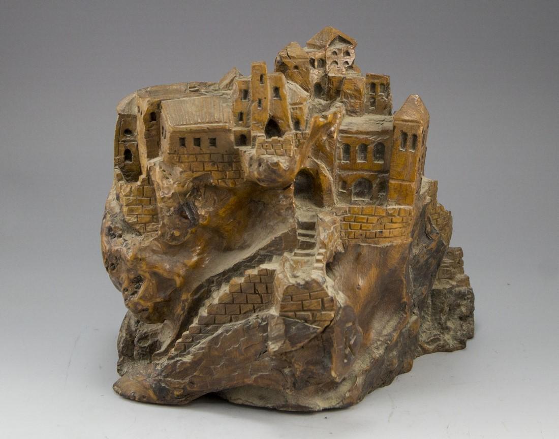 Carved Olivewood Sculpture - 3